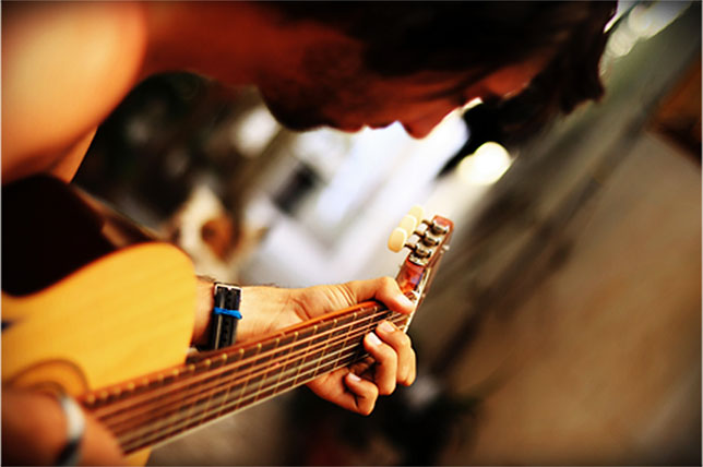 photo cours de guitare